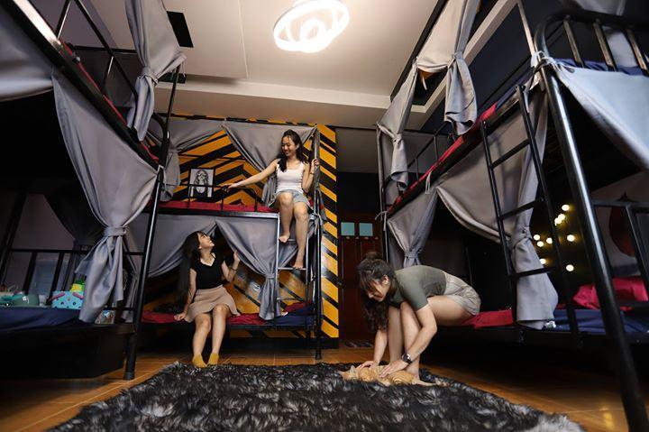 homestay giường tầng
